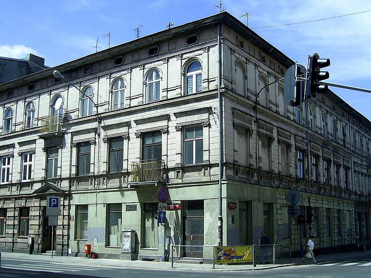 Dom przy ulicy Więckowskiego 21, w którym w latach 1915-1933 mieszkał Ary Sternfeld. fot. Magdalena J. Pawlak
